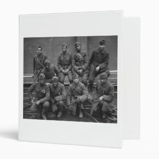 369th New York National Guard Harlem Hellfighters 3 Ring Binder