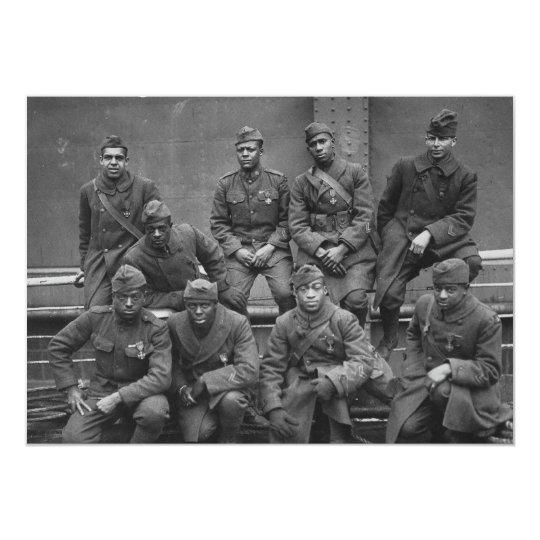 369th New York National Guard Harlem Hellfighters Card