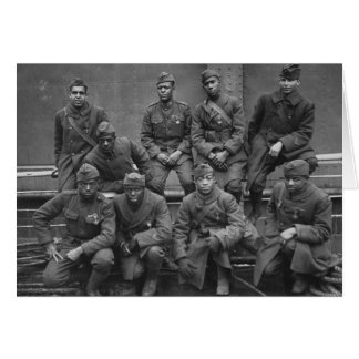 369th New York National Guard Harlem Hellfighters Card