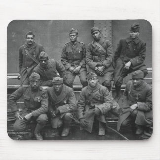369th New York National Guard Harlem Hellfighters Mouse Pad