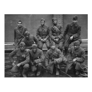369th New York National Guard Harlem Hellfighters Postcard