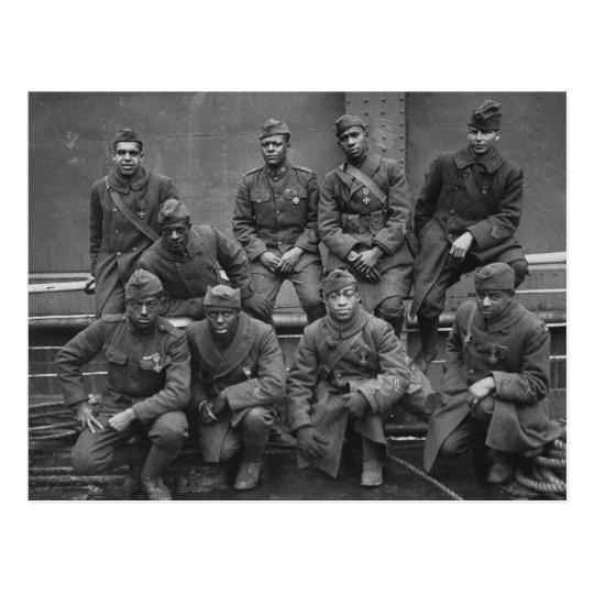369th New York National Guard Harlem Hellfighters Postcard