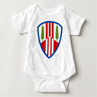 369th Sustainment Brigade Baby Bodysuit