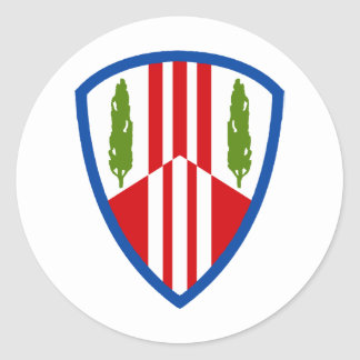 369th Sustainment Brigade Classic Round Sticker