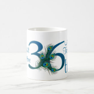 36th Wedding Anniversary Gift Ideas For Parents : 3636th Wedding Anniversary or 36th Birthday Coffee Mug