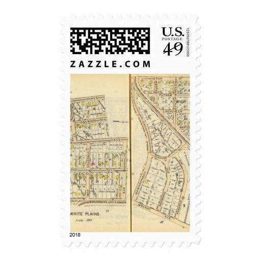 36-37 White Plains Postage Stamp