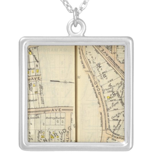 36-37 White Plains Silver Plated Necklace