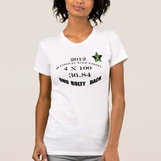 "36.84 ""Unu Bolty Back""Jamaica Sports T-shirt"
