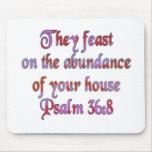 36:8 del salmo tapetes de ratones
