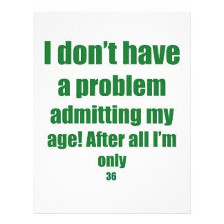 36 Admit my age Flyer
