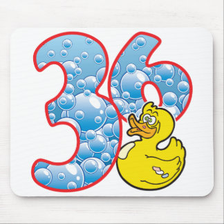 36 Age Duck Mouse Pad