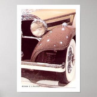 '36 Benz 1' Poster