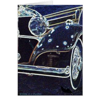 '36 Benz 2' Card