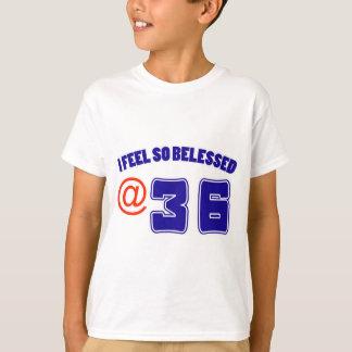 36 birthday design T-Shirt