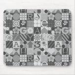 36 Blocks Mousemat Mouse Pad