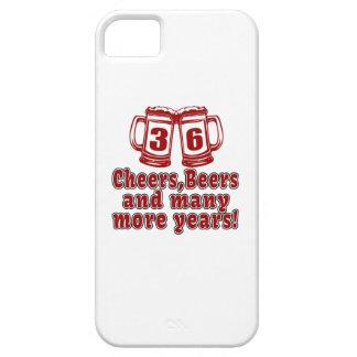 36 Cheers Beers Birthday Designs iPhone SE/5/5s Case