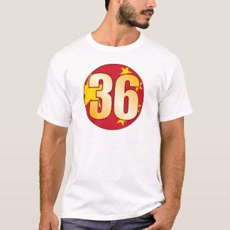 36 CHINA Gold T-Shirt
