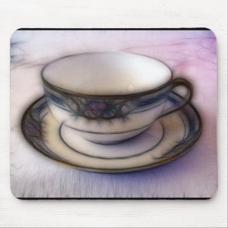 36 - Clouded Demitasse Mouse Pad