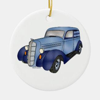 36 Dodge Panel Ceramic Ornament