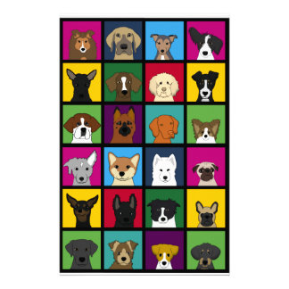 36 dogheads stationery