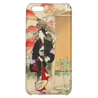 36 Examples of Beauties, Tea ceremony Toshikata Cover For iPhone 5C