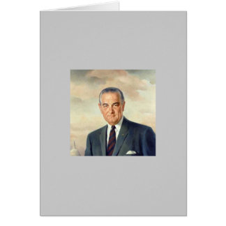 36 Lyndon B. Johnson Card