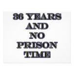 36 No prison time Invitation