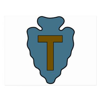 36.o División de infantería Tarjeta Postal