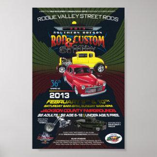 36.o Publicación anual TAN Rod y poster de la lona