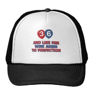 36.os diseños del cumpleaños del año gorro de camionero