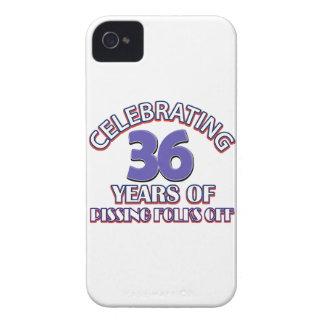 36.os diseños del cumpleaños iPhone 4 carcasa
