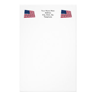 36-star flag, Global pattern Stationery