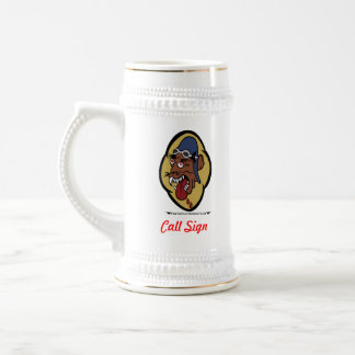 36 Tactical Fighter Squadron Beer Stein