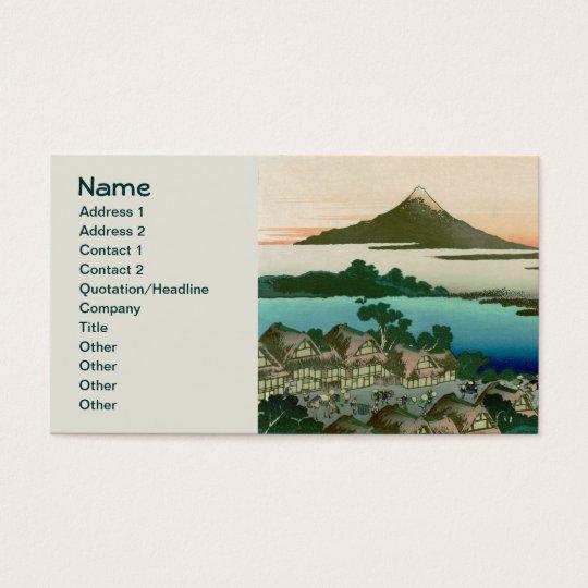 36 Views of Mount Fuji, Hokusai Fine Vintage Business Card