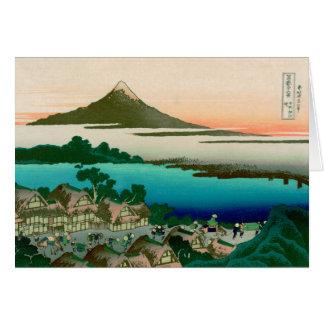 36 Views of Mount Fuji, Hokusai Fine Vintage Card