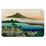 36 Views of Mount Fuji, Hokusai Fine Vintage Rectangular Photo Magnet
