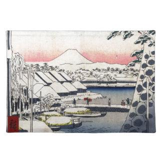 36 Views of Mount Fuji Placemat