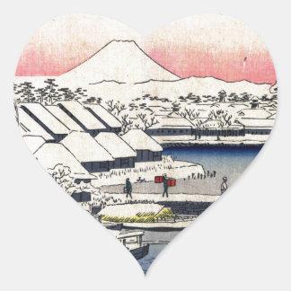 36 Views of Mount Fuji Stickers