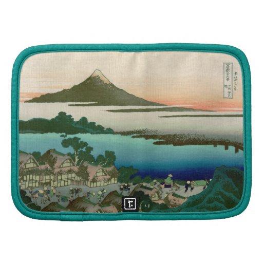 36 vistas del monte Fuji, vintage fino de Hokusai Planificador