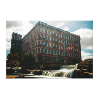 36 x 24 Canvas of HIstoric Victorian Paisley Mill Stretched Canvas Print