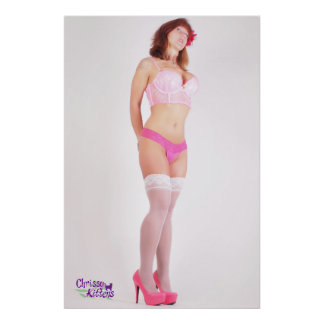 """36"""" x 24"""" Chrissy Kittens Tall Drink Of Water Poster"""