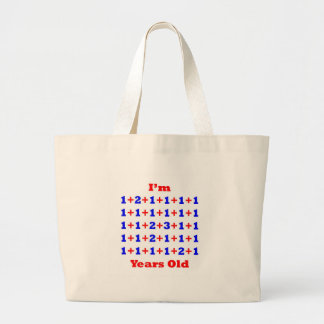 36 Years old! Large Tote Bag