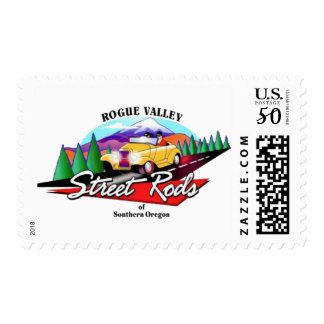 36th Annual SO Rod & Custom Show Postage Stamps