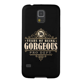36th Birthday (36 Years Of Being Gorgeous) Galaxy S5 Case
