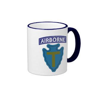 36th Infantry Division - Airborne Ringer Coffee Mug