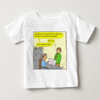 370 worlds greatest salesman cartoon baby T-Shirt