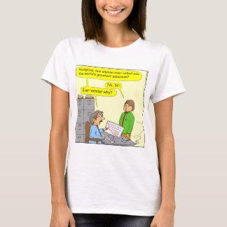 370 worlds greatest salesman cartoon T-Shirt