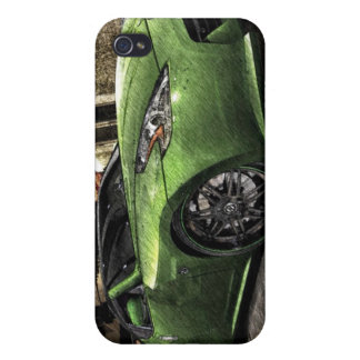 370z Graphic Pen Sketch iPhone 4/4S Covers