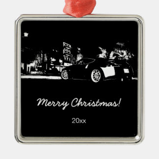 "370Z ""rear stance"" Christmas Ornament"