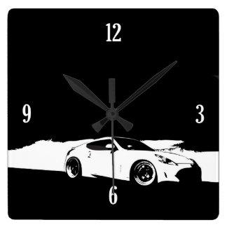370Z Rolling Shot Wall Clock